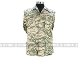 55/45 Cotton Poly Twill BDU Jacket  (Size: S) - ACU