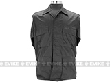 55/45 Cotton Poly Twill BDU Jacket  (Size: S) - Black