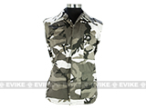 60/40 Cotton Poly Twill BDU Jacket  (Size: XXL) - Urban Camo