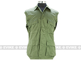 55/45 Cotton Poly Twill BDU Jacket  (Size: L) - OD Green