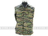 55/45 Cotton Poly Twill BDU Jacket  (Size: S) - Tiger Stripe