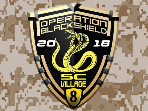 Operation Black Shield 2018 (July 28th ~ 29th @ SC Village)