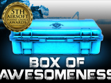 "*The Box of Awesomeness - ""THE AWESOME AUGUST BOX!"""