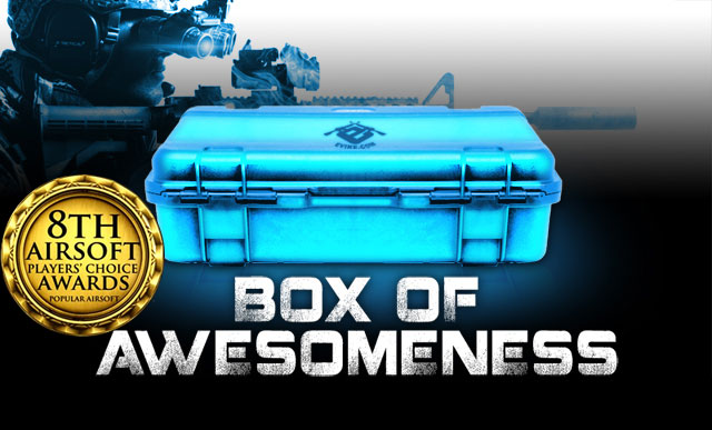 The Box of Awesomeness Evike Outpost Celebration!
