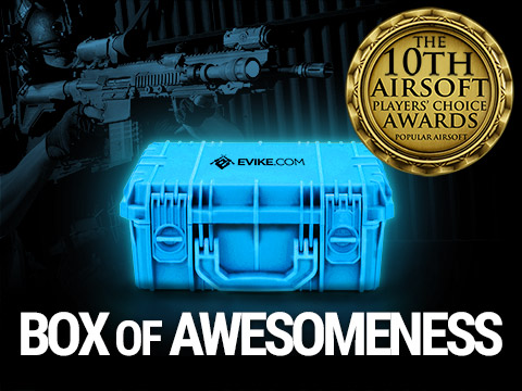 (Preview: Activating October 21st 6pm PST / 9pm EST) The Box of Awesomeness Not-Airsoftcon Edition