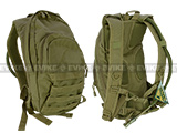 Condor Military Style Hydration Backpack Camel back with Molle - OD Green