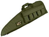 Evike.com 42 Deluxe Padded Rifle Case with External Magazine Pockets  (Color: OD Green)