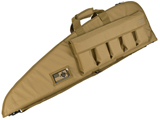 Evike.com 42 Deluxe Padded Rifle Case with External Magazine Pockets  (Color: Tan)