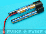 G&P Intellect High Output  NiMh RC Crane Stock Battery w/ Standard Dean Plug (Size: 9.6V / 2300mAh)