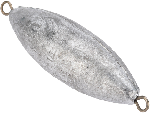 Battle Angler Double Ring Torpedo Lead Weight Sinker (Size: 14oz / Pack of 10)