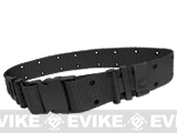 USMC Type Alice Sys. Quick Release Tactical Pistol Belt - Black