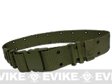 USMC Type Alice Sys. Quick Release Tactical Pistol Belt - OD Green