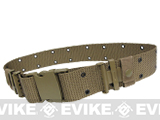 USMC Type Alice Sys. Quick Release Tactical Pistol Belt - Tan
