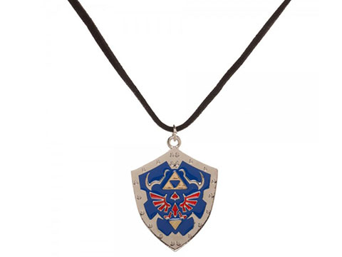 Bioworld Nintendo Zelda Shield Necklace