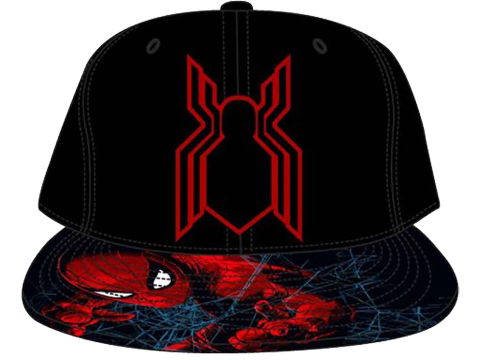 Bioworld Snapback Cap (Style: Spiderman Homecoming)
