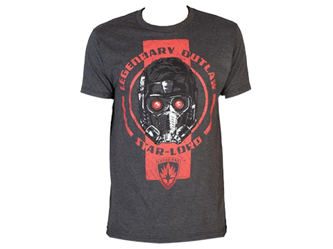 Guardians of the Galaxy Legendary Outlaw Star Lord T-Shirt