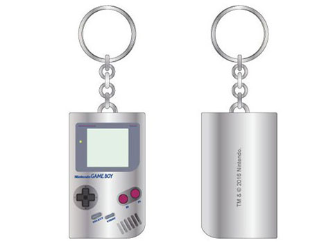 Bioworld Nintendo Gameboy Keychain