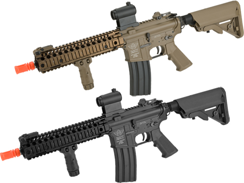 BOLT B4 MK18 MOD-0  B.R.S.S. Full Metal Recoil EBB Airsoft AEG Rifle (Color: Black)