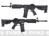 CAA Licensed Nylon Polymer M4 Carbine Airsoft AEG Rifle by King Arms - Black