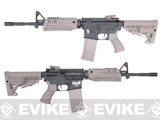 CAA Licensed Nylon Polymer M4 Carbine Airsoft AEG Rifle by King Arms - Dark Earth