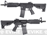CAA Licensed Nylon Polymer M4 CQB Airsoft AEG Rifle by King Arms - Black