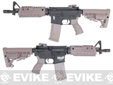 CAA Licensed Nylon Polymer M4 CQB Airsoft AEG Rifle by King Arms - Dark Earth