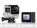 (AIRSOFTCON EPIC DEAL) GoPro HD HERO4 Professional Wearable HD Camera - Silver Edition