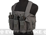 NcStar Tactical 6 Pouch AK Chest Rig (Color: Urban Grey)