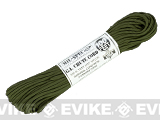 Matrix MIL-SPEC GI Chute Nylon Survival Para Cord - 100 Feet - OD Green