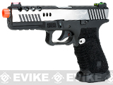 APS Dragonfly Competition Grade CO2 Powered Airsoft Blowback Pistol - Two-Tone