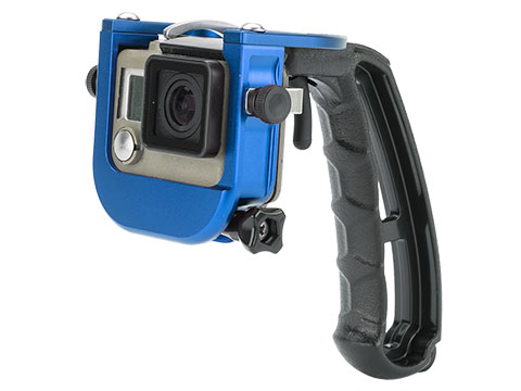 TMC P4 TRIGGER for Gopro 3 Plus & 4 (Color: Blue)