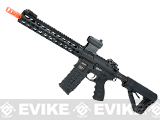 G&G GC16 Warthog Full Metal Airsoft AEG Rifle with 12 Keymod Rail - Black
