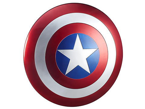 Marvel Legends Captain America Shield Prop Replica