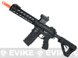 G&G GC16 Warthog Full Metal Airsoft AEG Rifle with 9 Keymod Rail - Black