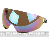 Emerson Lens for Bump Type Airsoft Helmets with Flip-down Visor (Color: Rainbow)