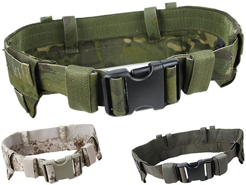 TMC Padded Modular Duty / Battle / Rig Belt (Color: AOR1 / Large)
