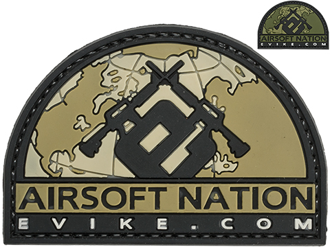 Evike.com Airsoft Nation II PVC Morale Patch