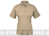 PROPPER ICE� Women's Performance Polo - Silver Tan - Size: S