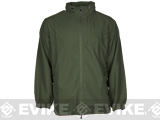 PROPPER� Packable Full Zip Windshirt - Olive (Size: Large)