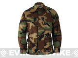 Genuine Gear BDU Coat - Woodland - Size: L