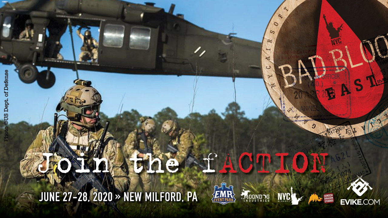 Operation Bad Blood 2020 - October 3rd & 4th, 2020 New Milford, PA