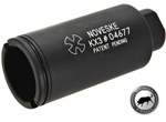 Madbull Noveske KX3 Adjustable Sound Amplifier Flashhider (Color: Black / 14mm Positive)