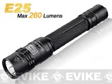Fenix E25 Gen. 2 CREE XP-E LED High Power Flashlight (260 Lumen)