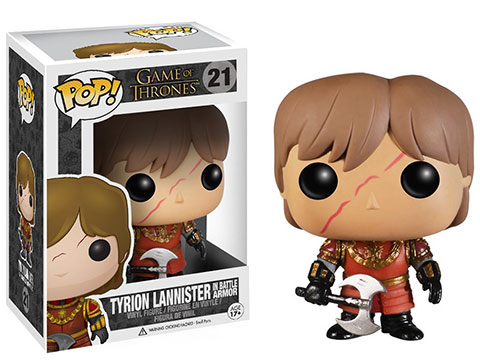 Funko POP! Game of Thrones Tyrion Lannister with Scar and Battle Armor Vinyl Figure