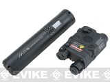 G&G MIT Weapon Mounted Tracer and Chronograph Unit (Color: Black w/ PEQ Battery Pack)