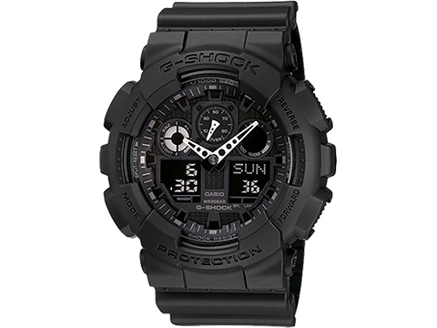 Casio G-Shock Men's GA100-1A1 Analog / Digital Watch (Color: Black)