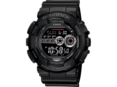 Casio G-Shock TGD100-1B World Timer Digital Dive Watch
