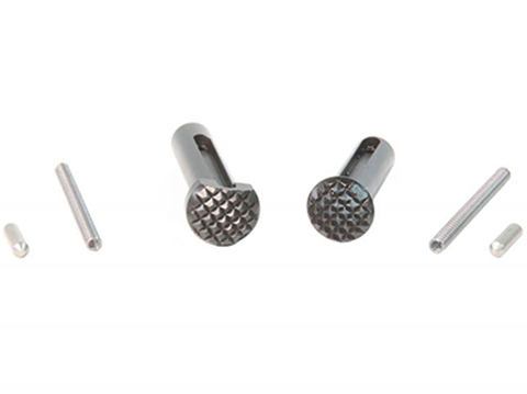 Geissele Automatics Ultra Duty Checkered Takedown Pin Set for AR15 Rifles
