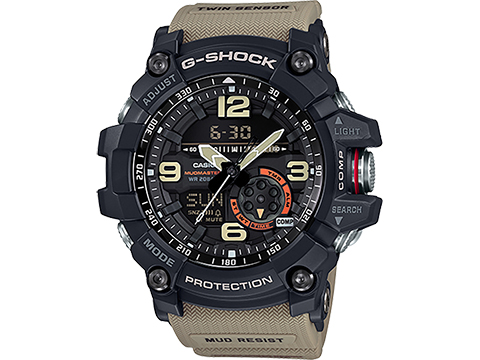 Casio G-Shock GG-1000-1A5CR Mudmaster Watch (Color: Military Beige)
