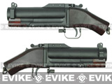 King Arms M79 Sawed-Off Airsoft Grenade Launcher (Aluminum Barrel / Real Wood Stock)